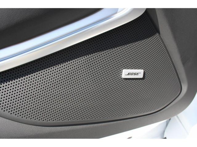 シボレーカマロはBOSEサウンドシステムが標準装備です。臨場感のあるサウンドをお楽しみ下さい。