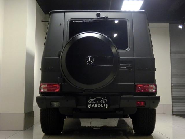 メルセデス・ベンツ M・ベンツ G63 AMG マットブラック 背面スムージング D車