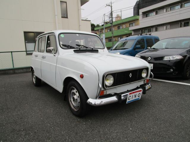 「ルノー」「4」「コンパクトカー」「東京都」の中古車3