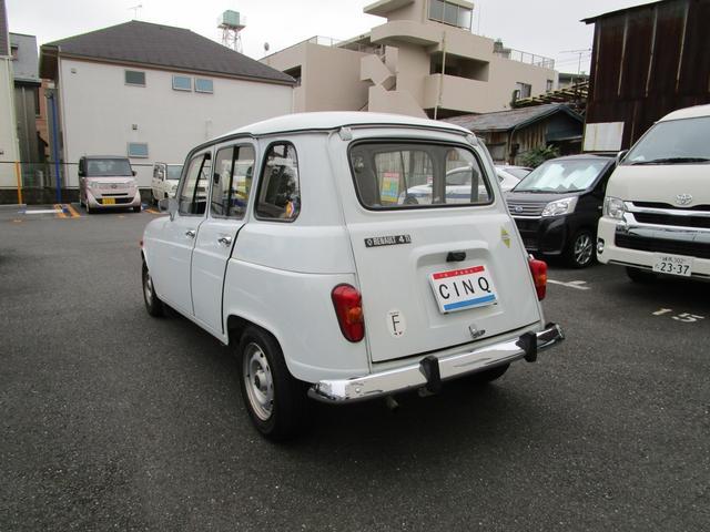 「ルノー」「4」「コンパクトカー」「東京都」の中古車4