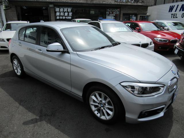 BMW BMW 118d スタイル ハーフ白革 Bカメラ 衝突軽減 LED