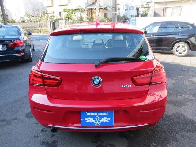 BMW BMW 118i スタイル ハーフ白革 Bカメラ LEDライト