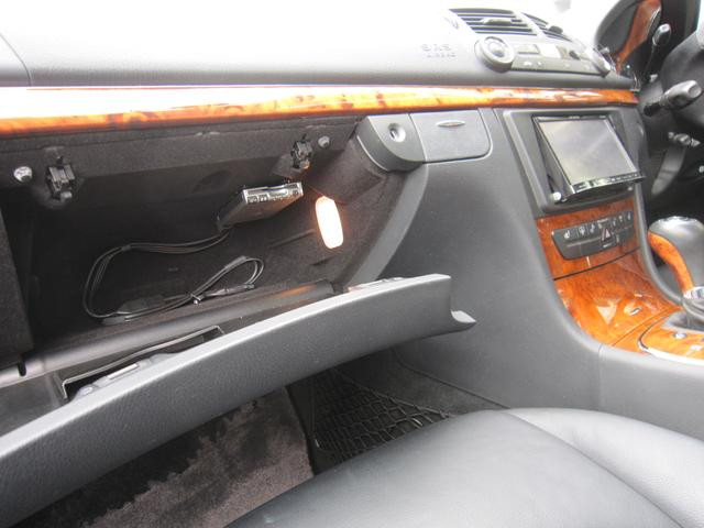 メルセデス・ベンツ M・ベンツ E300 黒革 社外ナビTV ディーラー整備記録簿 禁煙車