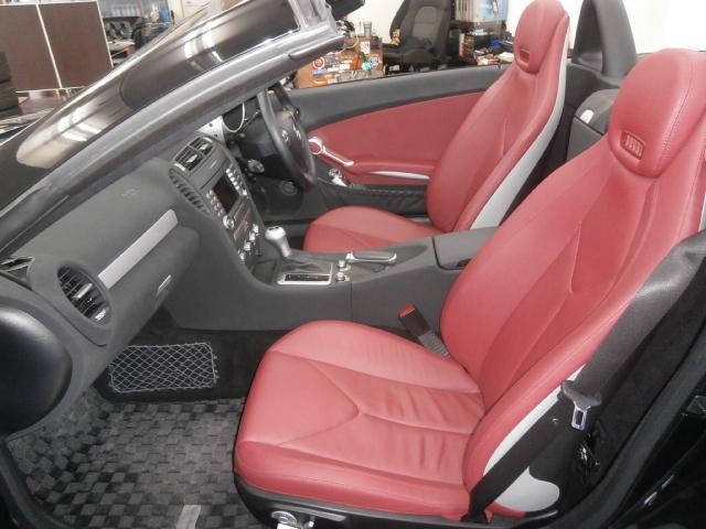 メルセデス・ベンツ M・ベンツ SLK200コンプレッサー 1オーナー 赤革シート キセノン