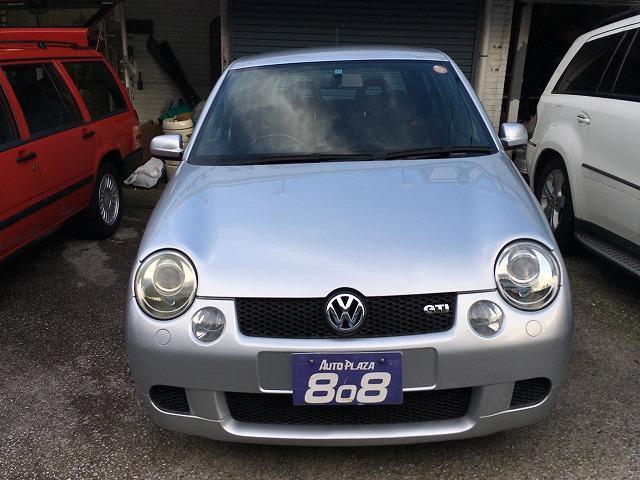 フォルクスワーゲン VW ルポ GTI 定期点検記録簿付 ETC車載器