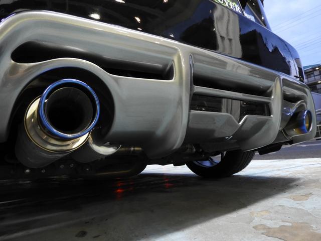 GTingsフルエアロ BLITZ車高調 アペックスマフラー(23枚目)