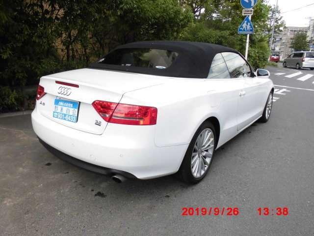 「アウディ」「アウディ A5カブリオレ」「オープンカー」「神奈川県」の中古車8