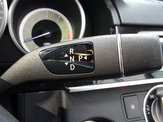 指先で操作できるコラム式のティップシフト機構付7速AT(7G-TRONIC Sport)!