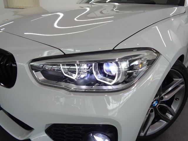 スモールリングを装備したLEDヘッドライトが、BMWの存在感を発揮します!