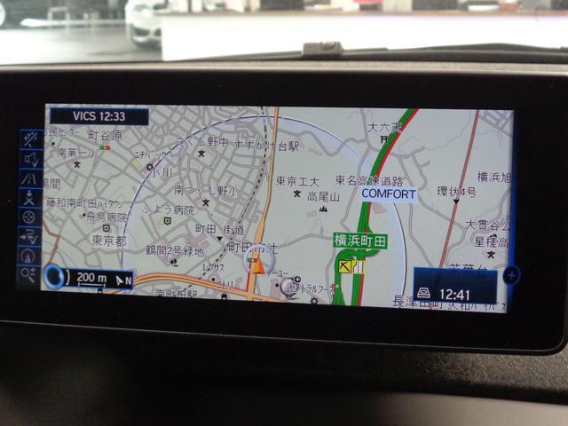 レンジ・エクステンダー装備車 ACC 純正HDDナビ バックカメラ ハーフレザーシート コンフォートアクセス 純正19インチアルミ LEDヘッドライト(10枚目)