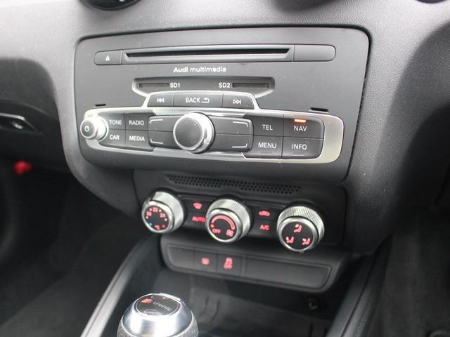 1.4TFSI 禁煙車 Sラインパッケージ  スポーツシート キセノンパッケージ MMIベーシック  6.5インチモニター SDカードスロット AUX端子 8スピーカー  コントラストルーフ アイドリングストップ(35枚目)