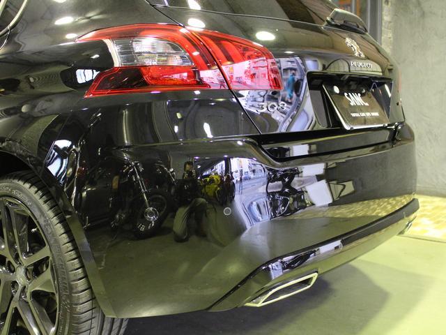 GTライン ブルーHDi ブラックパック 禁煙車輌 新車保証継承 特別仕様車 ディーゼルターボ  取扱説明書 新車時保証書 点検記録 スペアキー 18インチブラックアロイホイール ダーククロームライオンエンブレム ラックフロントグリル(58枚目)