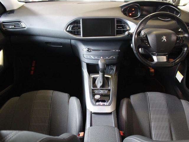SW アリュール ブルーHDi 1オーナー 禁煙車 ガラスルーフ Bカメ前後ソナー クルコン タッチスクリーン ラジオ USB Bluetooth スマートキー&エンジンスタートボタン(9枚目)