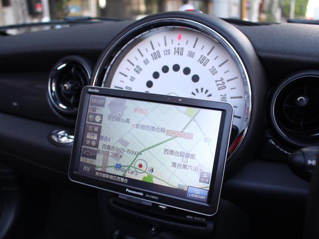 クーパーS コンバーチブル 禁煙車 Panasonic製ナビゲーション リバースギア連動バックカメラ リアコーナーセンサー シートヒーター バイキセノンヘッドライト オールウェイズオープンタイマー ETC ディーラー車(3枚目)