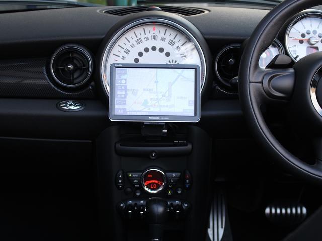 クーパーS コンバーチブル 禁煙車 Panasonic製ナビゲーション リバースギア連動バックカメラ リアコーナーセンサー シートヒーター バイキセノンヘッドライト オールウェイズオープンタイマー ETC ディーラー車(76枚目)
