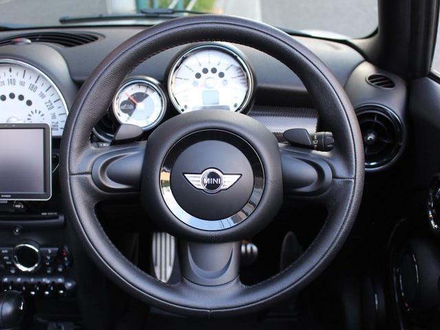 クーパーS コンバーチブル 禁煙車 Panasonic製ナビゲーション リバースギア連動バックカメラ リアコーナーセンサー シートヒーター バイキセノンヘッドライト オールウェイズオープンタイマー ETC ディーラー車(13枚目)