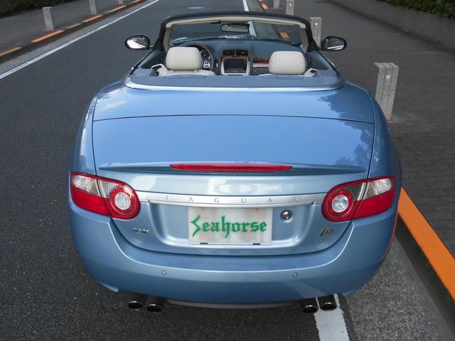 XKRコンバーチブル 2009yモデル 紺TOP 左ハンドル 1オーナー アイボリー内装 20AW アダプテイブクルーズコントロール 6速パドルシフト ヒーター付ウッドコンビステアリング  ドラレコ(13枚目)