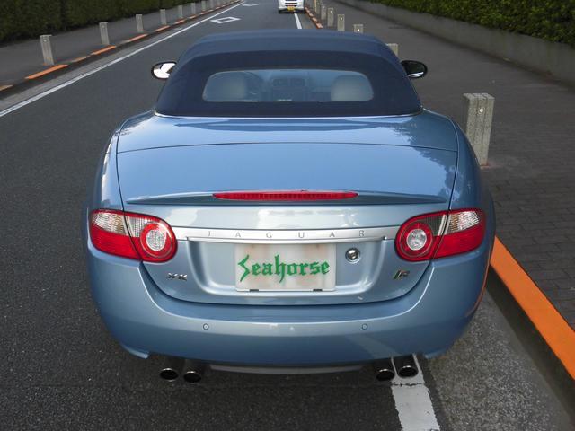 XKRコンバーチブル 2009yモデル 紺TOP 左ハンドル 1オーナー アイボリー内装 20AW アダプテイブクルーズコントロール 6速パドルシフト ヒーター付ウッドコンビステアリング  ドラレコ(46枚目)