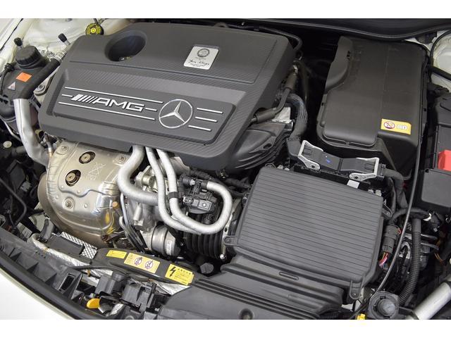 A45 4マチック RSP 純正ナビTV Bカメラ 黒革 Frシートヒーター ディストロニックプラス BSA パドルシフト LEDヘッドライト AMG19インチAW(9枚目)
