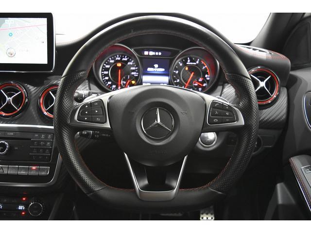 A45 4マチック RSP 純正ナビTV Bカメラ 黒革 Frシートヒーター ディストロニックプラス BSA パドルシフト LEDヘッドライト AMG19インチAW(10枚目)
