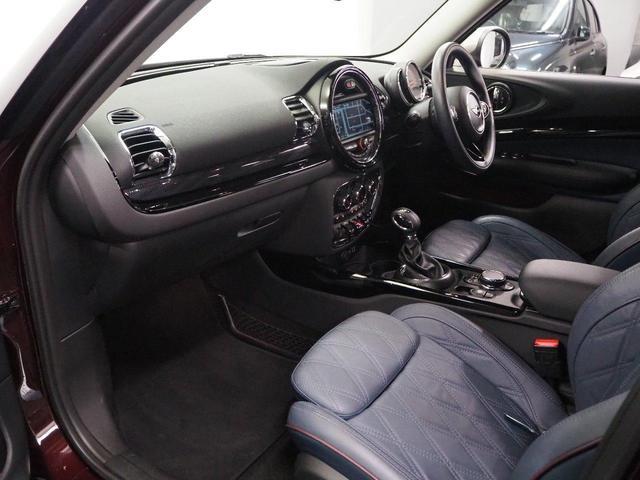 クーパーD クラブマン ワンオーナー レザーチェスター インディコブルーシート パワーシート シートヒーター 純正HDDナビゲーション Bluetooth接続 ミラーETC2.0 リアビューカメラ リアPDC ACC(14枚目)