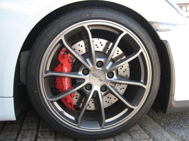 ポルシェ ポルシェ ケイマン GT4 ワンオーナー 屋内保管