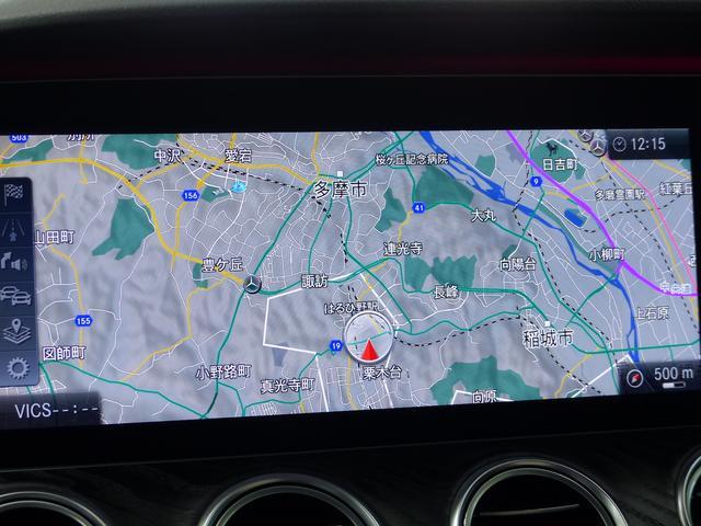 E220dAVGスポーツ レザーP 黒革HUD禁煙 新車保証(11枚目)