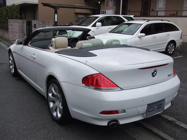 BMW BMW 650iカブリオレ ベ-ジュ本革 HDDナビ PDC