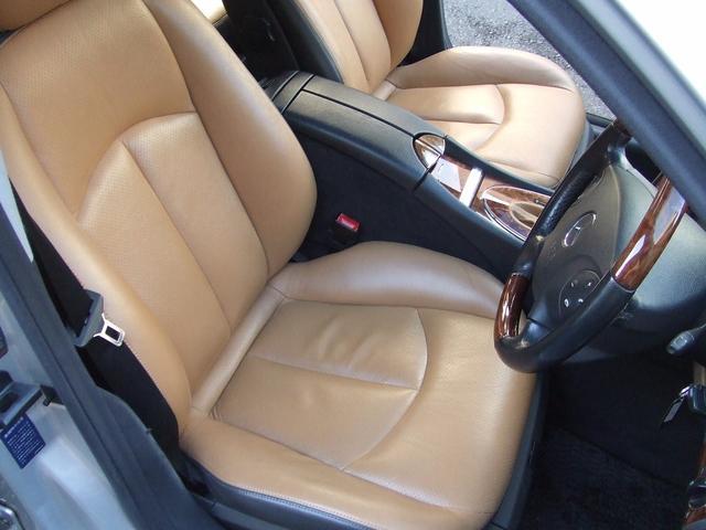 メルセデス・ベンツ M・ベンツ E240ステーションワゴン フルエアロ ブラウン本革 SR