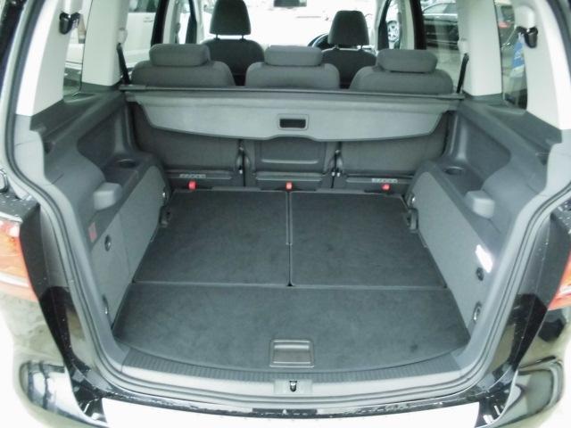 フォルクスワーゲン VW ゴルフトゥーラン TSIハイライン 1オナ 車高調 地デジナビ カーボンエアロ