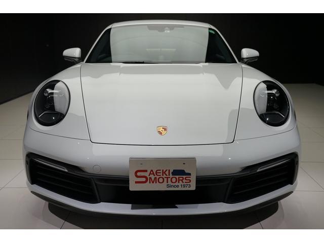 2020年モデル ポルシェ 911(TYPE992)カレラSでございます。正規ディーラー車です。
