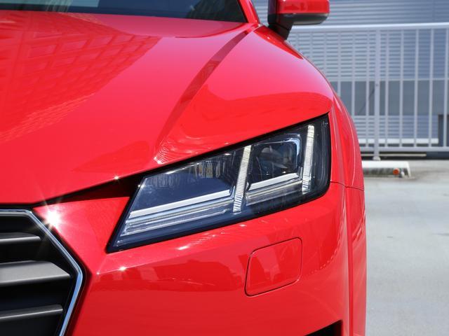 アウディ アウディ TTクーペ 2.0TFSI 認定中古車 現行型 LEDヘッドライト