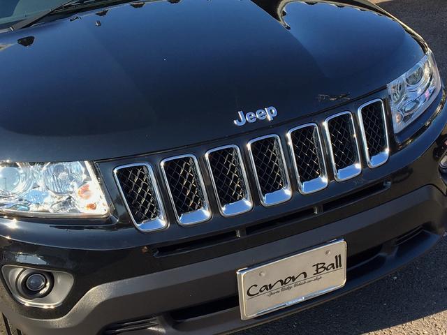 クライスラー・ジープ クライスラージープ コンパス リミテッド 黒本革 HDDナビTVBカメラ 禁煙 認証整備付