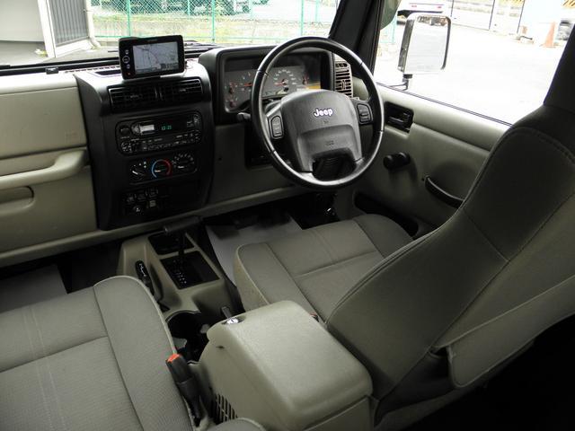 クライスラー・ジープ クライスラージープ ラングラー サハラ カスタムver ブッシュワーカー 正規物 認証整備付
