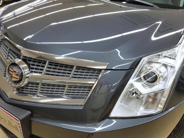 キャデラック キャデラック SRXクロスオーバー ラグジュアリー 黒革 HDDナビ HID 認証整備付