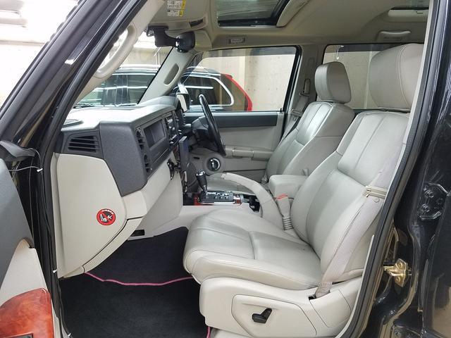 クライスラー・ジープ クライスラージープ コマンダー リミテッド4.7 リフトUP HDDナビTV3方向カメラ