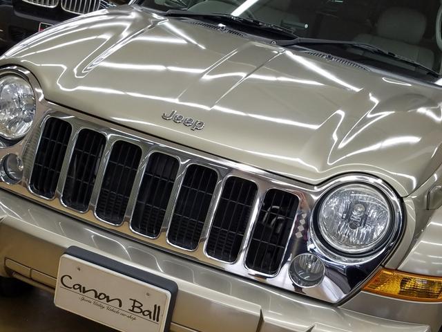 リミテッドED本革内装KJ型Jeep最終モデルガッチリ整備付(13枚目)