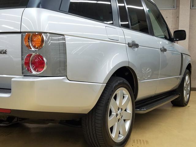 HSEネイビー革シートウォールナットウッド2005年モデル(29枚目)