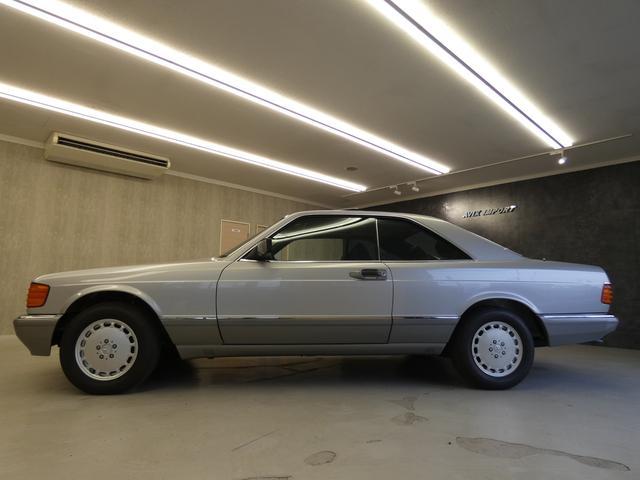 Sクラス クーペ 560SEC 正規D車 SR青ファブリック(6枚目)
