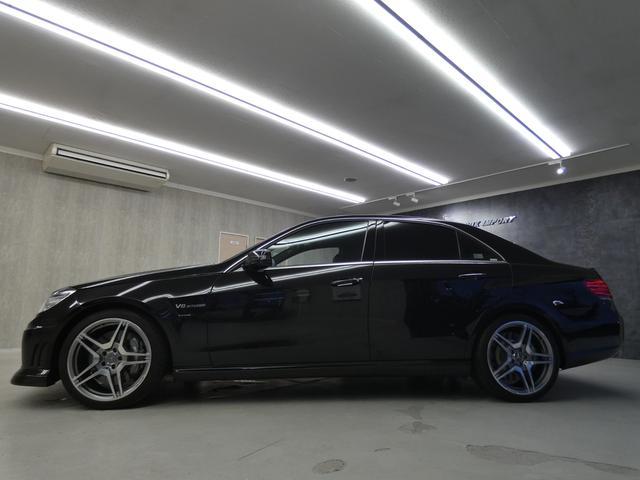 E63 AMG 黒革TV Bカメ カーボンリップ 後期テール(6枚目)