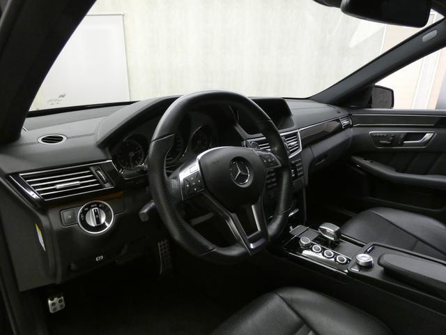 E63 AMG 黒革TV Bカメ カーボンリップ 後期テール(7枚目)