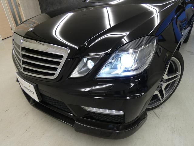 E63 AMG 黒革TV Bカメ カーボンリップ 後期テール(19枚目)