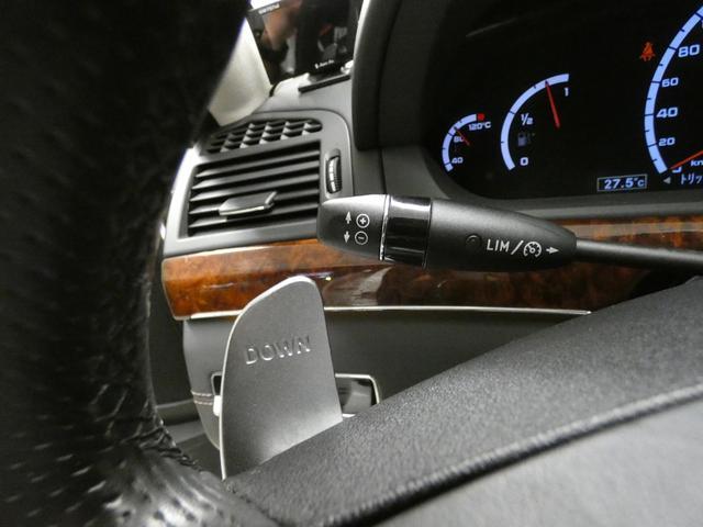 S63 AMGロング SR 黒革 TV Bカメ ナイトビュー(16枚目)