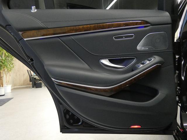 S400hエクスクルーシブ 左H RSP 黒革 パノラマSR HDDナビDTV 360カメラ クルコン エアサス 19AW ブルメスター PTS キーレスゴー オートトランク LEDヘッドライト(37枚目)