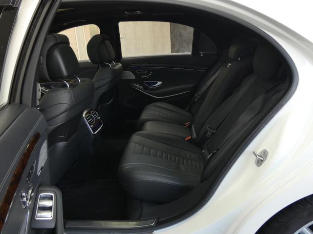 S550ロング 1オーナー 後期マイバッハ仕様 RSP パノラマSR 黒革 HDDナビ DTV 全周カメラ PTS シートヒーター ベンチレーター ブルメスター オートテール キーレスゴー(41枚目)