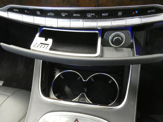 S550ロング 1オーナー 後期マイバッハ仕様 RSP パノラマSR 黒革 HDDナビ DTV 全周カメラ PTS シートヒーター ベンチレーター ブルメスター オートテール キーレスゴー(44枚目)