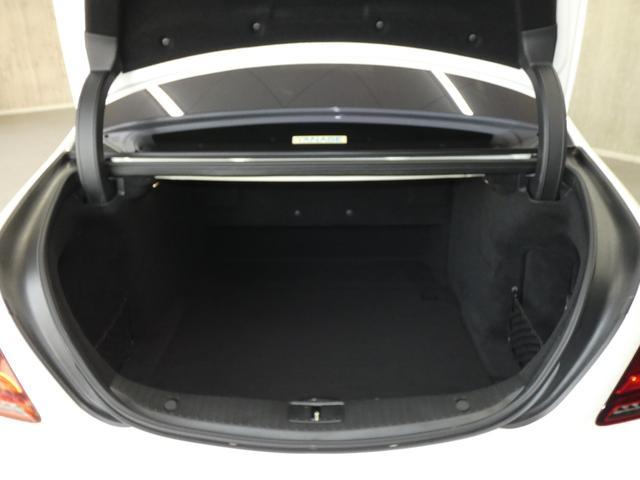 S400d 4マチックロング AMGラインプラス ショーファーPKG 後期 Mケア 左H 黒革 シートヒーター・ベンチレーター パノラマSR レーダーセーフティ 純正ナビ TV CD 360度カメラ Burmester HUD パワーテールゲート(9枚目)