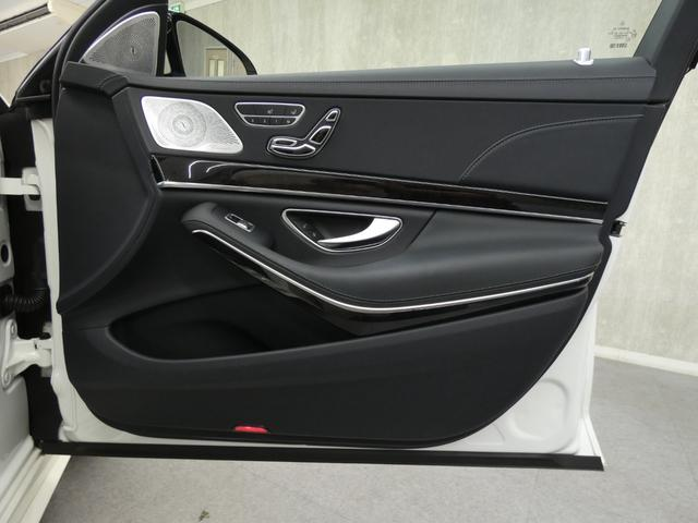 S400d 4マチックロング AMGラインプラス ショーファーPKG 後期 Mケア 左H 黒革 シートヒーター・ベンチレーター パノラマSR レーダーセーフティ 純正ナビ TV CD 360度カメラ Burmester HUD パワーテールゲート(36枚目)