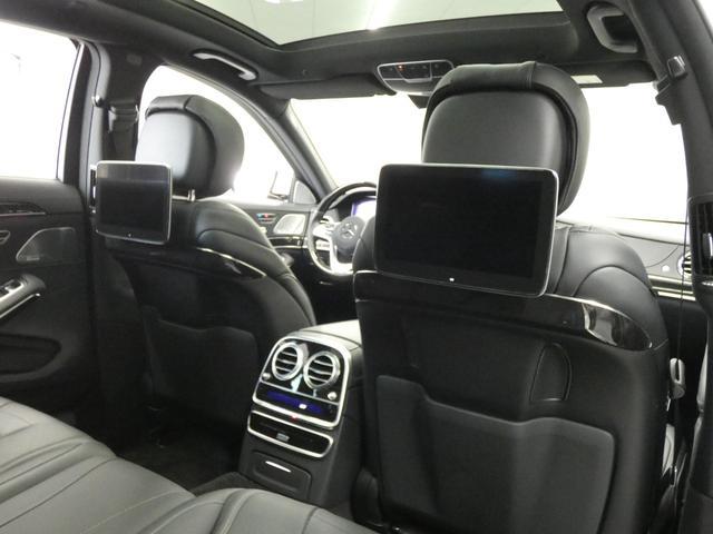 S400d 4マチックロング AMGラインプラス ショーファーPKG 後期 Mケア 左H 黒革 シートヒーター・ベンチレーター パノラマSR レーダーセーフティ 純正ナビ TV CD 360度カメラ Burmester HUD パワーテールゲート(54枚目)