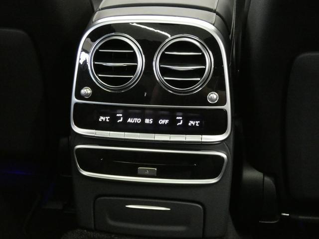 S400d 4マチックロング AMGラインプラス ショーファーPKG 後期 Mケア 左H 黒革 シートヒーター・ベンチレーター パノラマSR レーダーセーフティ 純正ナビ TV CD 360度カメラ Burmester HUD パワーテールゲート(56枚目)